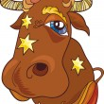 Zodiac taurus sign — Stock Vector