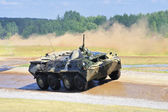 Armoured combat vehicle. — Stock Photo