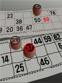 Bingo — Stok Vektör