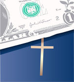 Money bible — Stock Vector