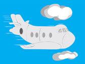Aircraft — Stock Vector