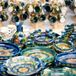 Traditional romanian pottery - Foto de Stock  