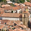 Stock Photo: Town in France