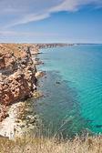 Küste bei kap kaliakra — Stockfoto