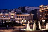 Kotzia Square and Athens Cityhall — Stock Photo