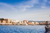 Venetian harbour in Chania — Stock Photo
