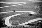 Road to Khora Sfakion — Stock Photo