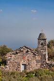 Lakonia yakın eski şapeli — Stok fotoğraf