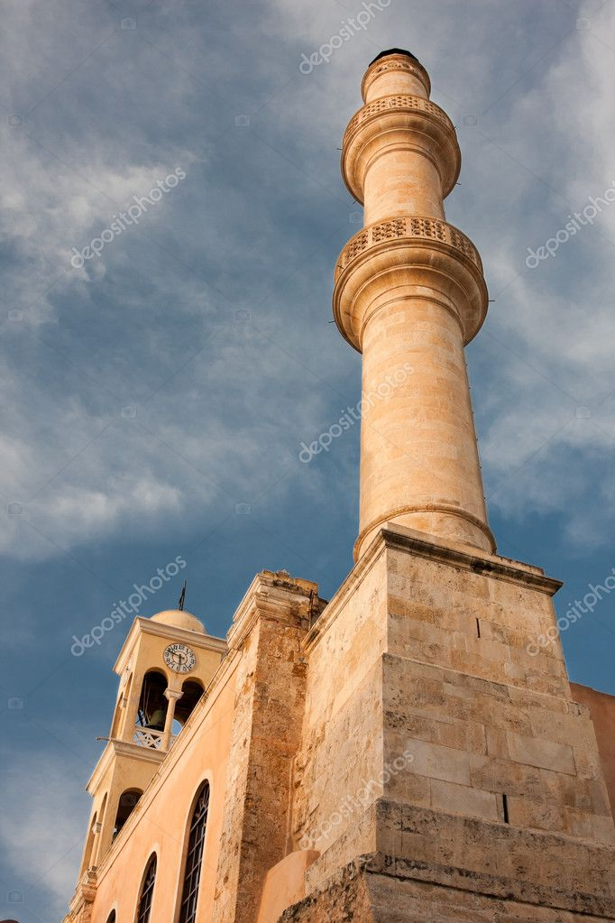 St. Nicholas Church in Chania city, Crete, Greece — Stock Photo #3649193