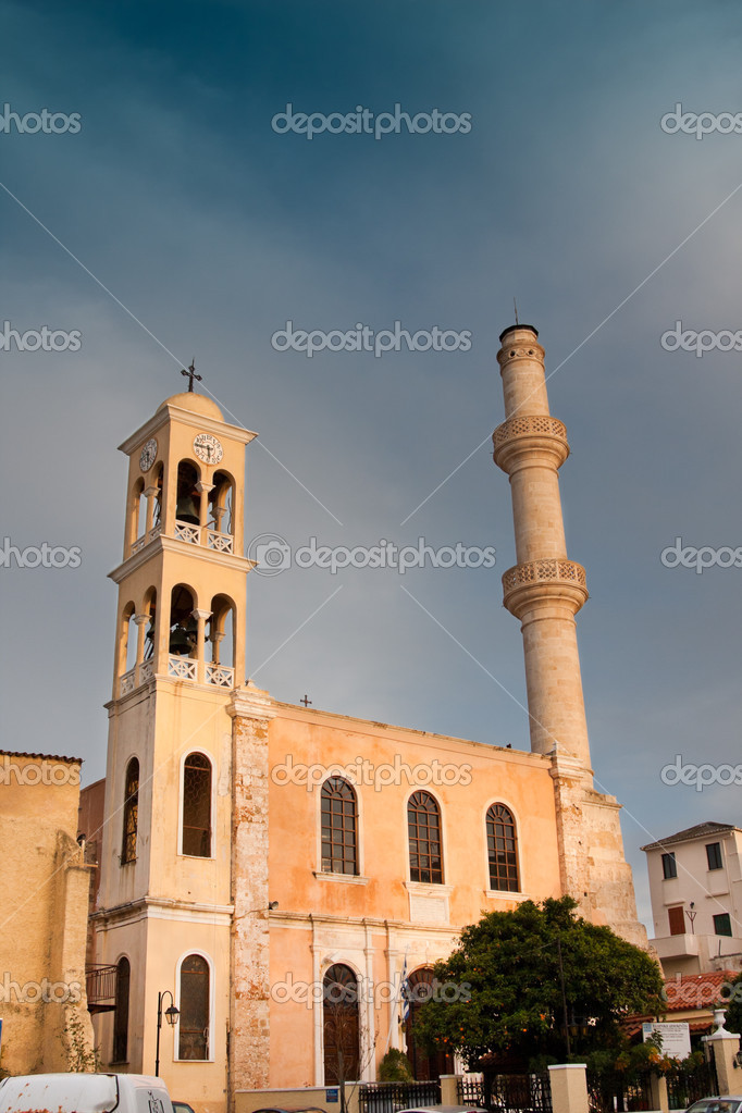 St. Nicholas Church in Chania city, Crete, Greece — Stock Photo #3649224
