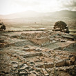 Phaistos Archeological Site - Stock Photo