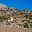 Stock Photo: Small chapel nearby Stymfalia