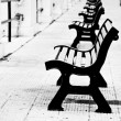 Benches in Bari — Stock Photo