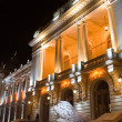 Cuza University at night - Stock Photo