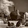 steam trains — Stock Photo