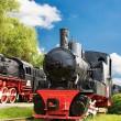 Foto de Stock  : Steam trains
