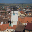 Council tower of Sibiu — Stock Photo