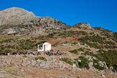 Small chapel nearby Stymfalia — Stock Photo