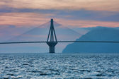 Rio - Antirrio Bridge — Stock Photo