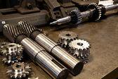 Mechanical parts — Stock Photo
