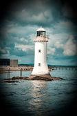 Tarbert Lighthouse — Stock Photo