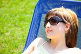 Relaxing in the sun — Stock Photo