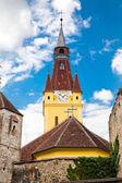 кристиан укрепленные церкви — Стоковое фото