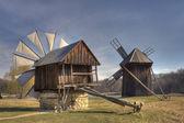 Traditional Windmills — Stock Photo
