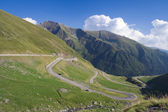 Transfagarasan Highway — Stock Photo