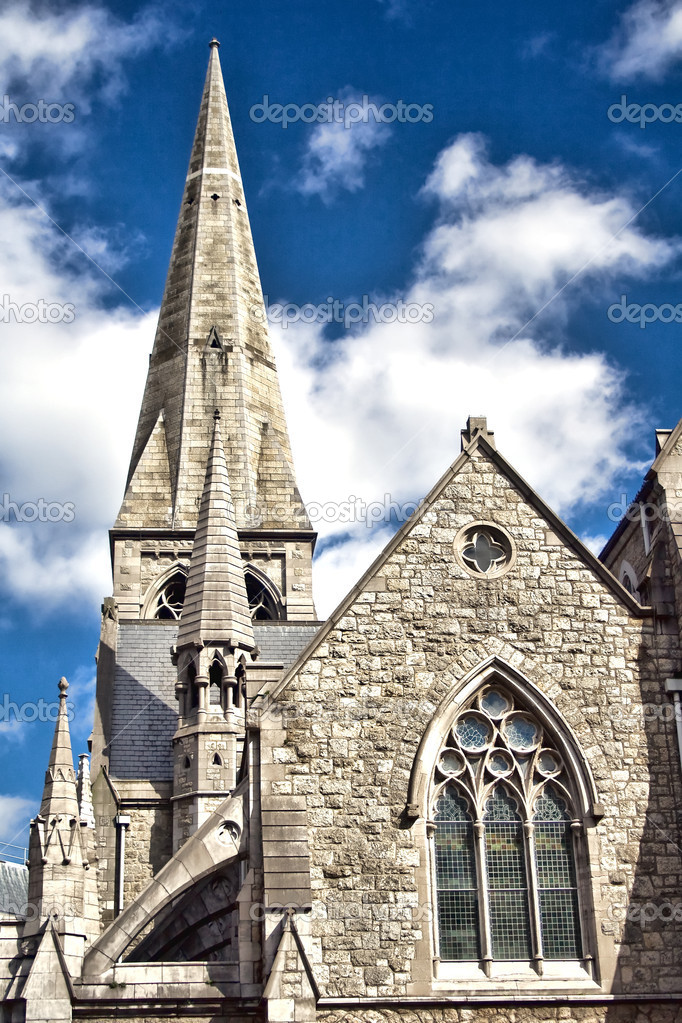 Church in Dublin, Ireland.  Stock Photo #3651625