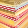 Stack of collectible books — Stockfoto