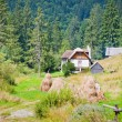 Mountain cabin — Stock Photo