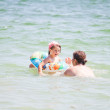 Mother and child in vacation — Stock Photo