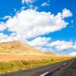 Road in Dobrogea — Stock Photo