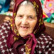 Portrait of old woman — Stock Photo #3835905