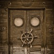 Old wooden door — Stock Photo #3848989