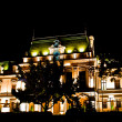 Stock Photo: Roznovanu Palace by night - actual Iasi City Hall