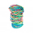 Stock Photo: Set of multi-coloured elastic bands