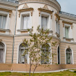 The Union Museum, Iasi, Romania Lateral Facade — Stock Photo