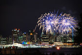 Canada Day, Vancouver BC Canada — Stock Photo