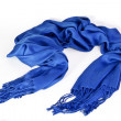 Royalty-Free Stock Photo: Blue scarf