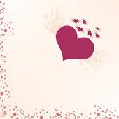 Valentine's Day Background Hearts — Stock Photo