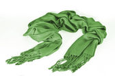 Green scarf — Stock Photo
