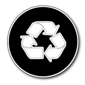 Recycle icon — Stock Photo
