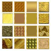 Symbols gold styles — Stock Photo