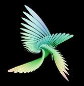 Abstract birds — Stock Photo