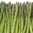 Asparagus background — Stock Photo