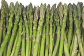 Asparagus background — Stockfoto