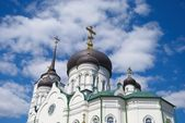 The Blagoveshchensk cathedral. A detail. — Stock Photo