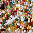 Stock Photo: Colorful drugs